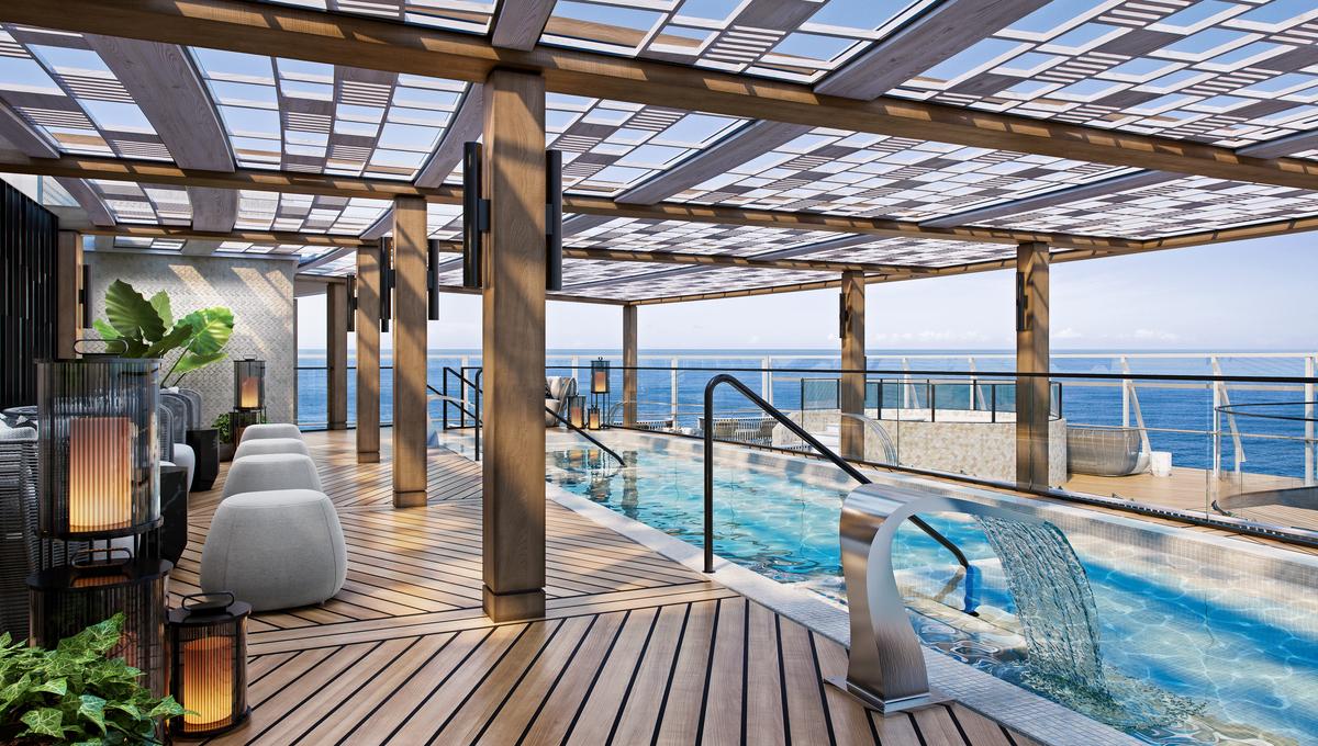 Oceania Vista - Spa Pool