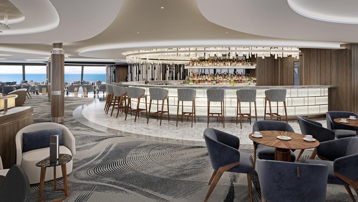 Oceania Vista - Horizons Bar