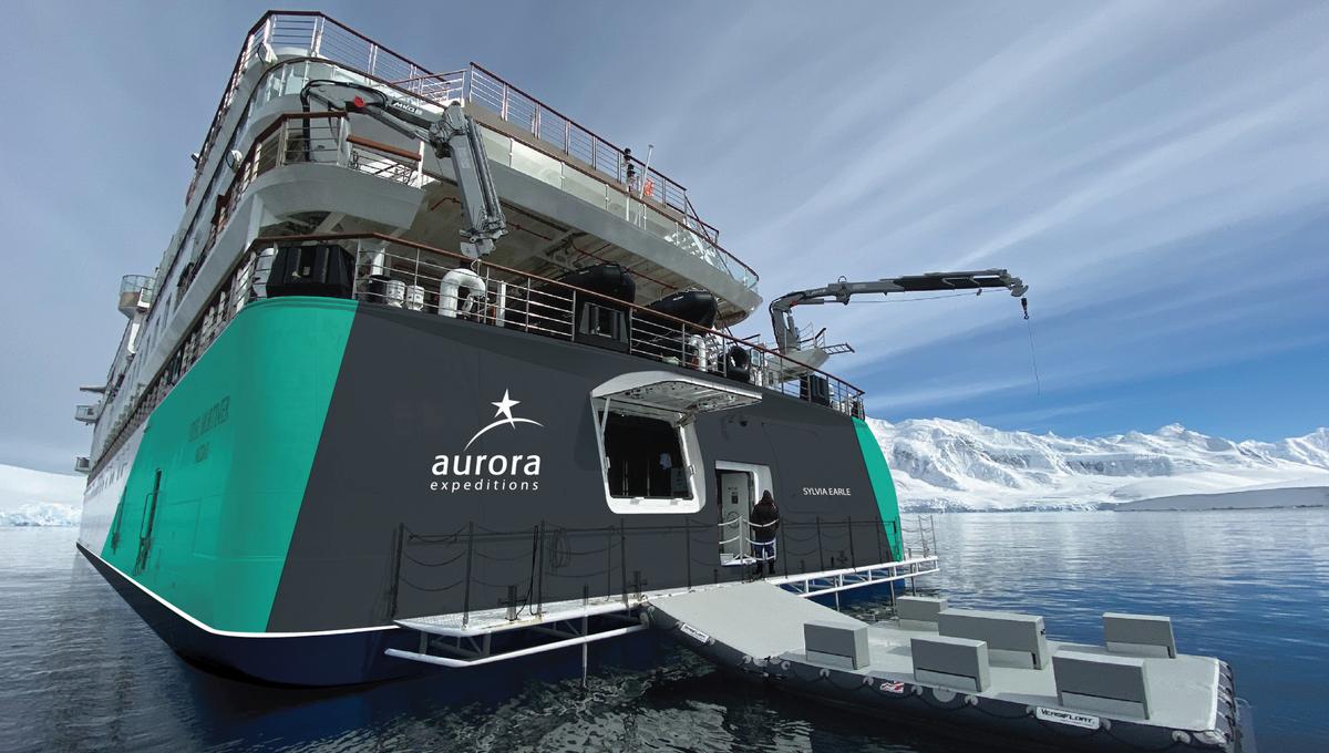 Sylvia Earle - Aurora Expeditions