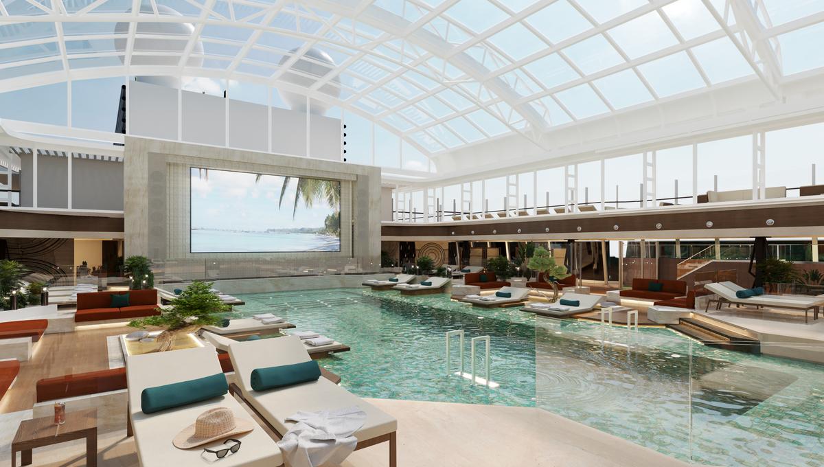 Explora Journeys - Indoor pool