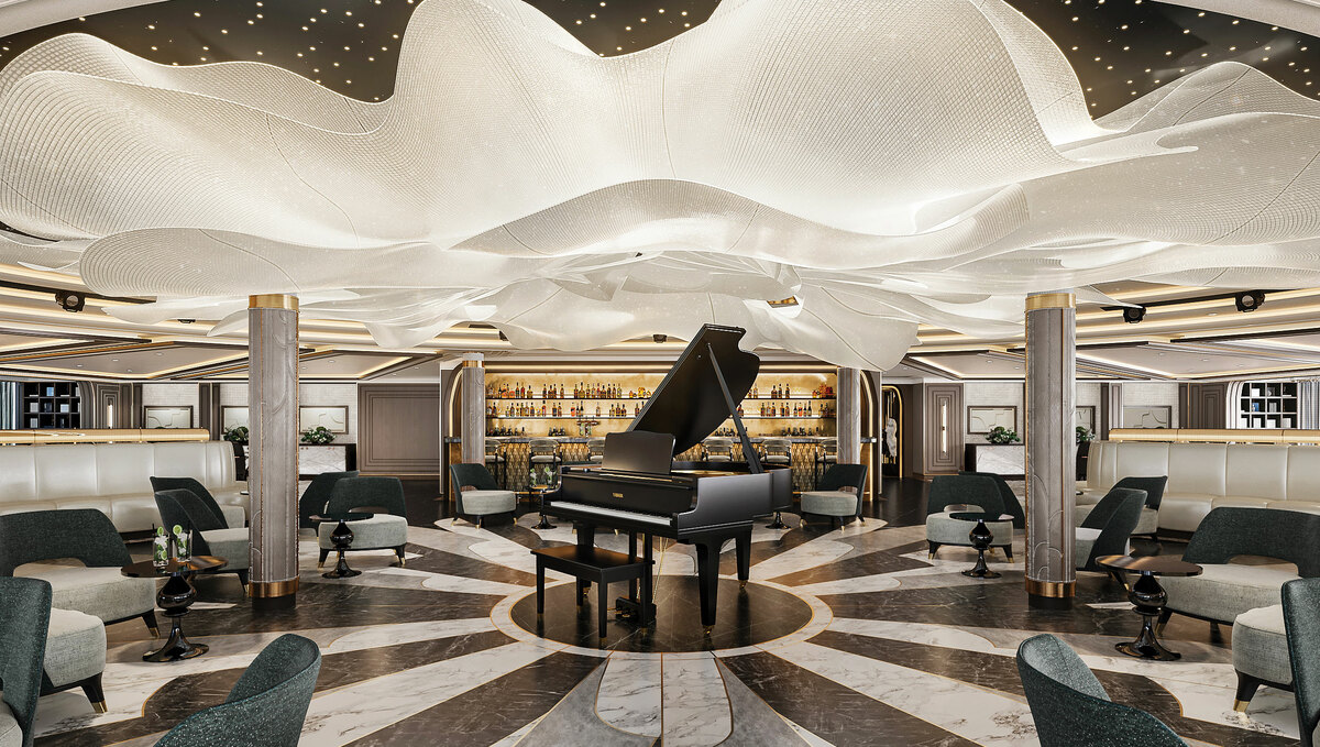 Regent Seven Seas Grandeur - Observation Lounge