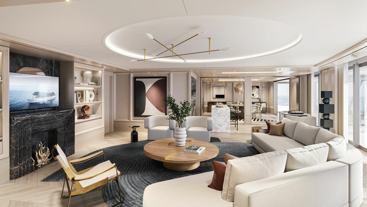 Regent Seven Seas Grandeur - Regent Suite