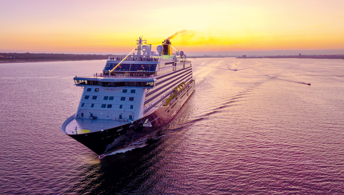 Saga's Spirit of Discovery, one of the best options for a winter cruise from the UK in 2021/2022