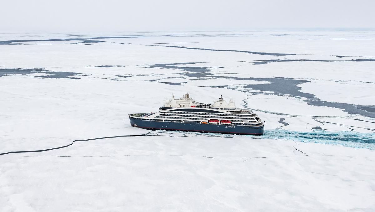 Ponant's luxury icebreaker Le Commandant Charcot
