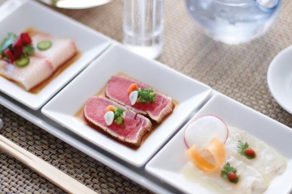 Crystal Cruises - Nobu sushi trio
