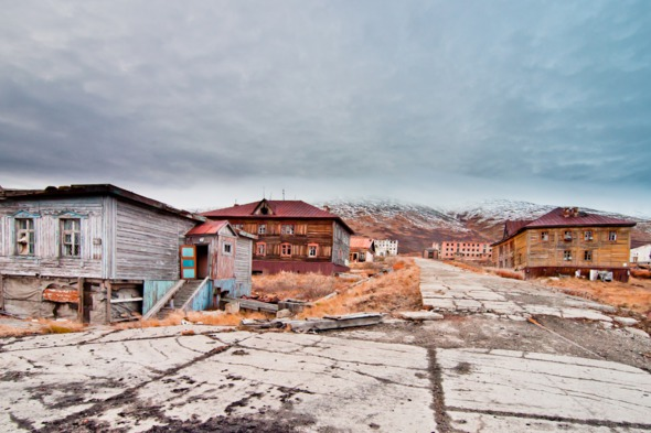 Abandoned buildings in Chukotka, Russia