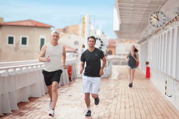 Crystal Cruises - Jogging track