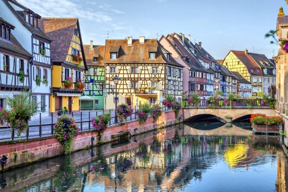 Petite Venise in Colmar, France
