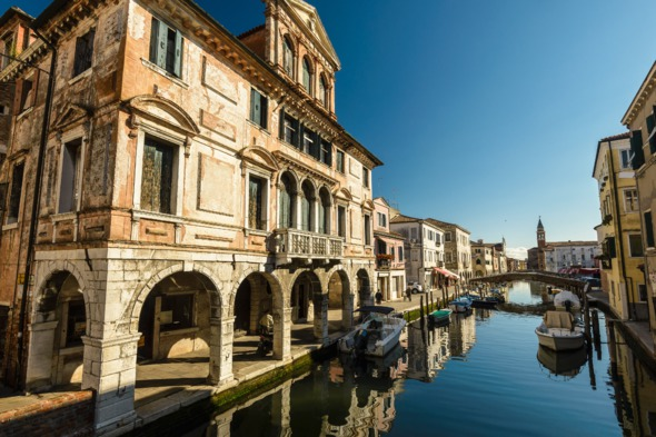 Canal in Chioggia, Italy