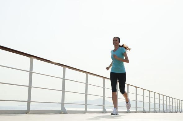 Regent Seven Seas Cruises - Jogging track