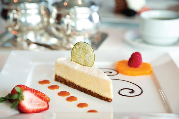 Oceania Cruises - Cheesecake from Toscana