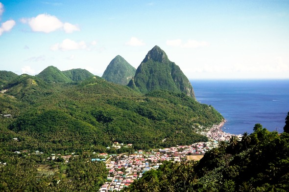 Soufriere and the Pitons, Saint Lucia