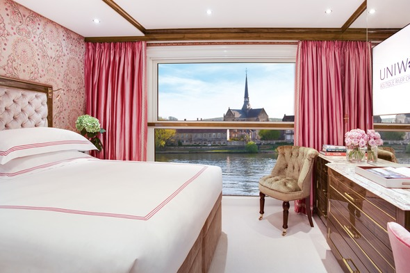 Uniworld Boutique River Cruise Collection - S.S. Joie de Vivre stateroom