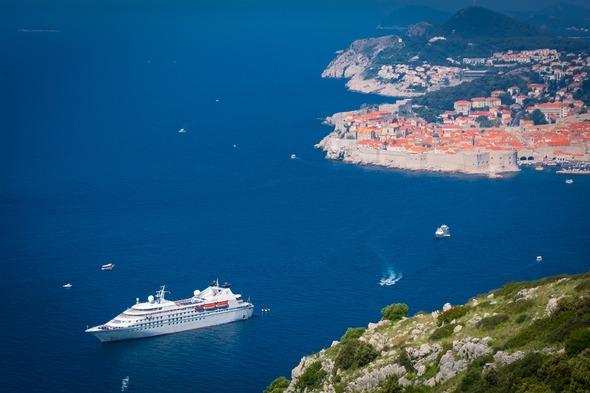 Windstar Cruises - Star Legend in Dubrovnik