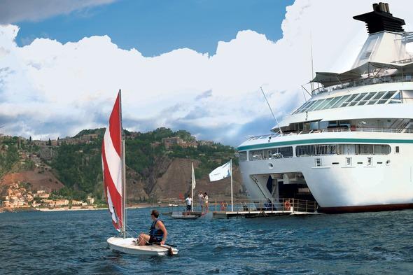 Windstar Cruises - Star Pride watersports marina