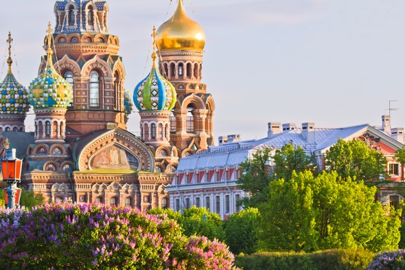 Church of the Spilled Blood, St Petersburg