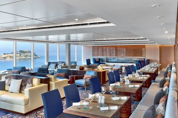Viking Ocean Cruises - Explorer's Lounge