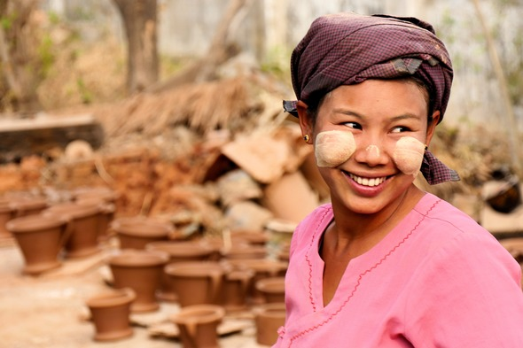 Nwe Nyein village, Myanmar