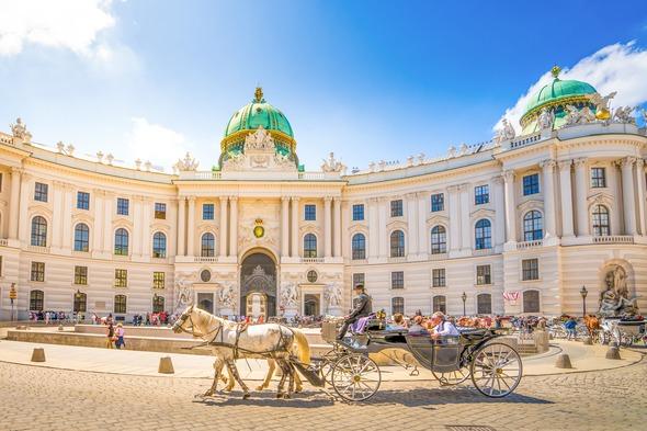 Alte Hofburg in Vienna, Austria