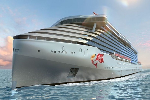 Virgin Voyages cruise ship artist's impression