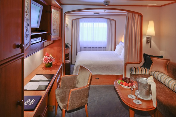 SeaDream Yacht Club Stateroom