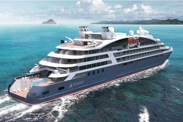 Artist's impression of one of Ponant's Explorers