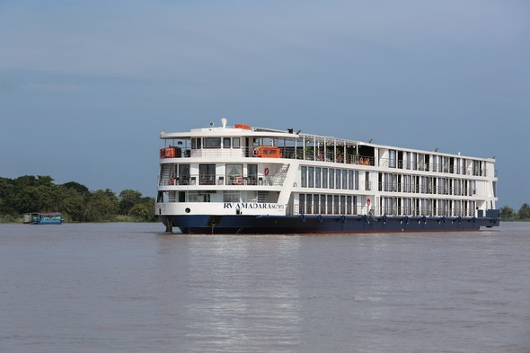 AmaWaterways - AmaDara on the Mekong