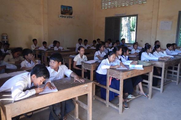 Prek Kdam school, Cambodia