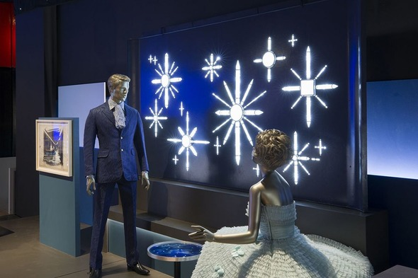 Installation from the V&A exhibition Ocean Liners: Speed and Style