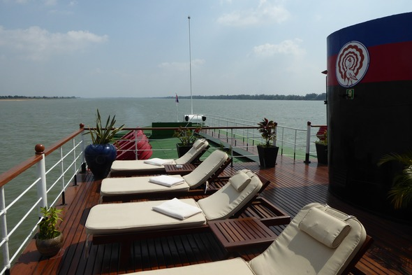 Sundeck on Tonle Pandaw