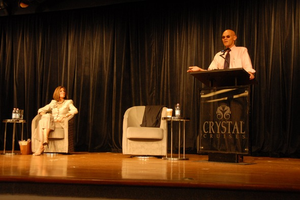 James Carville and Mary Matalin - Guest lecturers on Crystal Cruises