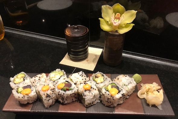 Seabourn Ovation - Sushi restaurant