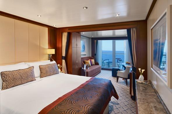 Seabourn Ovation - Veranda Suite