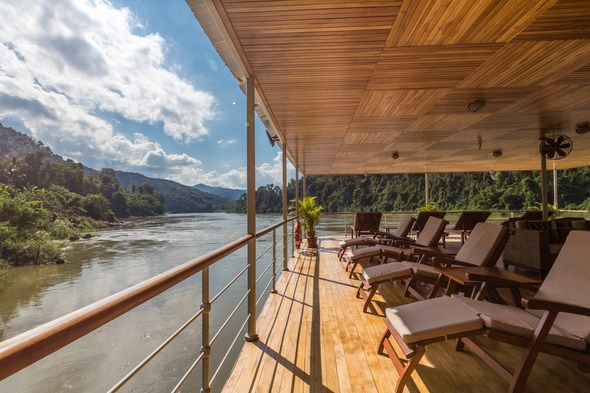 Pandaw river cruise on the Upper Mekong in Laos