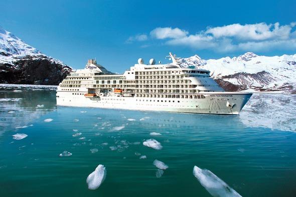 Regent Seven Seas Navigator in Alaska