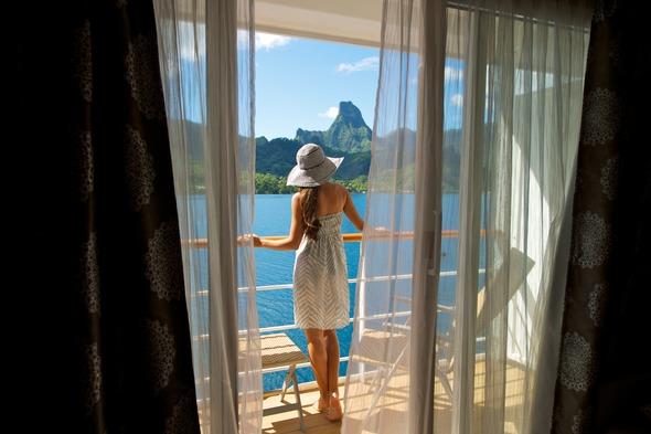 Cabin on Paul Gauguin Cruises