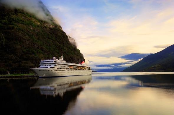 Fred. Olsen Cruise Lines - Braemar in Flam, Norway