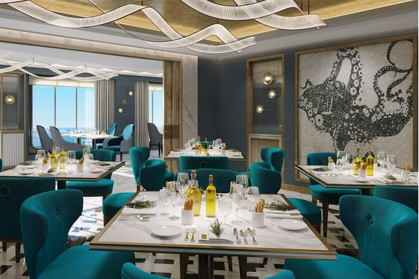 Crystal Endeavor - Prego restaurant