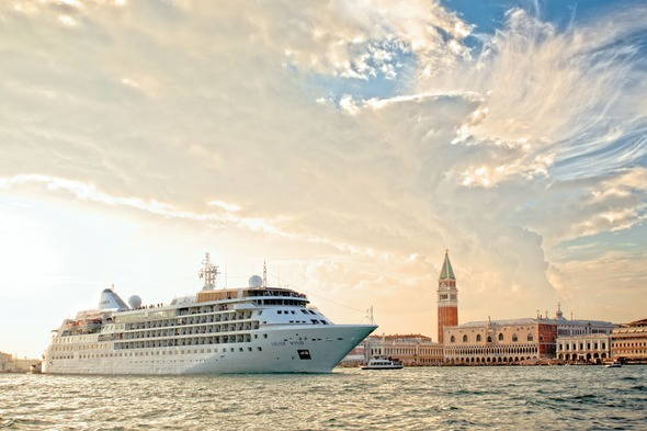 Silversea's Silver Wind in Venice