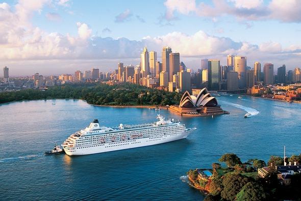 five best sail away ports - Crystal Symphony, Sydney