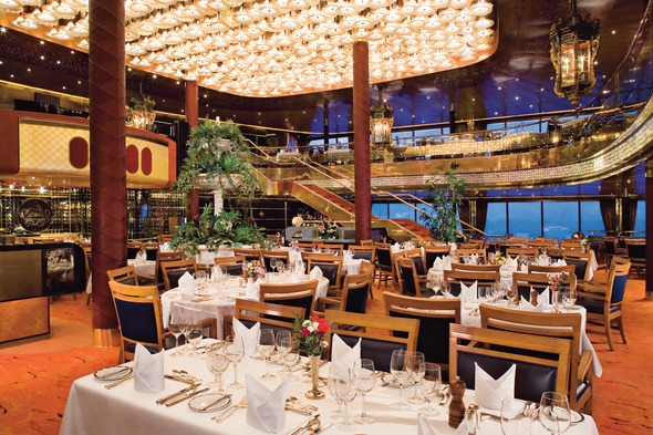 Holland America Line - MS Maasdam, dining room