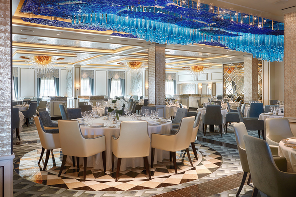 Now, Voyager, Sail Thou Forth - Compass Rose restaurant