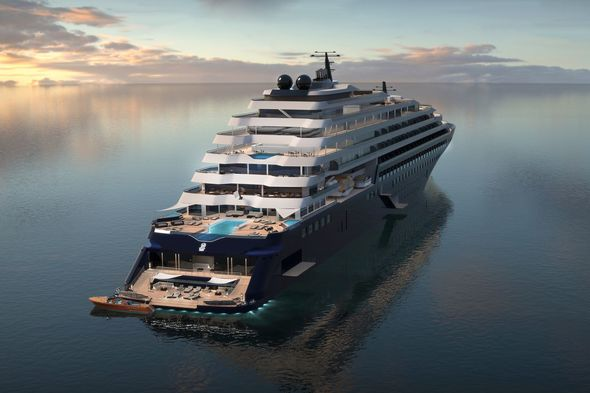 Ritz-Carlton Yacht Collection - Azora artist's impression