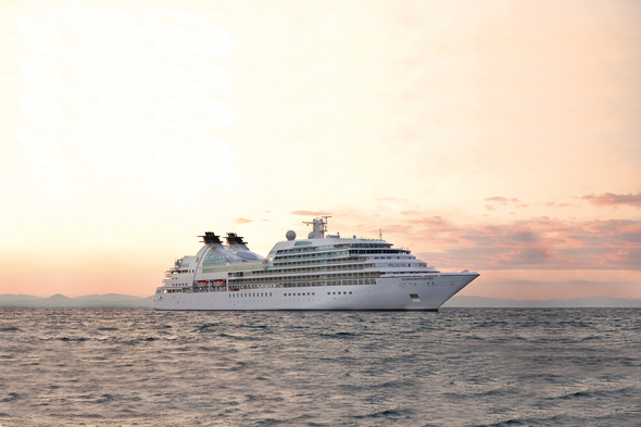 Seabourn Sojourn at Sea