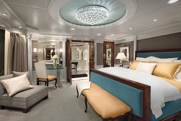 Oceania O Class ship - Owners Suite