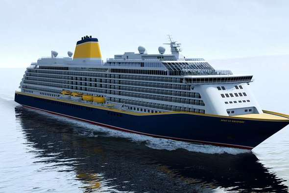 Saga Cruises - Spirit of Discovery, rendering