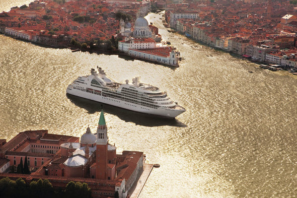 Seabourn Odyssey in Venice