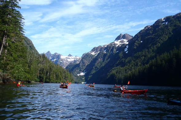 UnCruise Adventures - Kayaking in Alaska