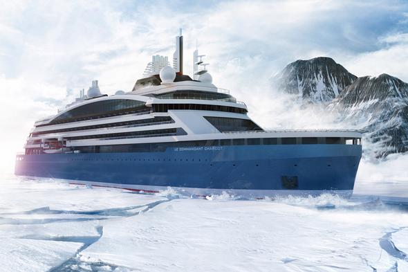 Ponant - Le Commandant Charcot ice breaker