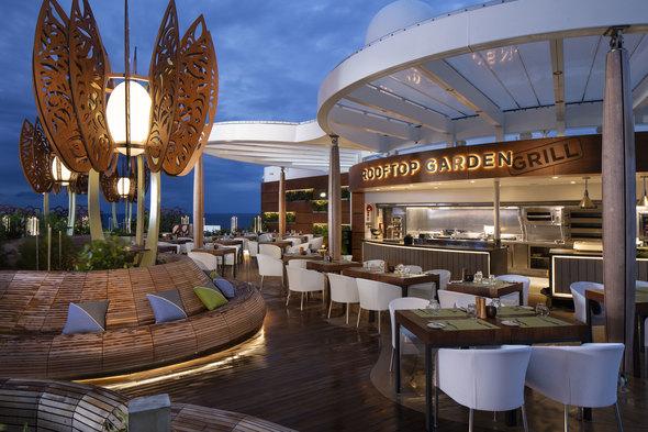 Celebrity Edge - Rooftop Garden Grill